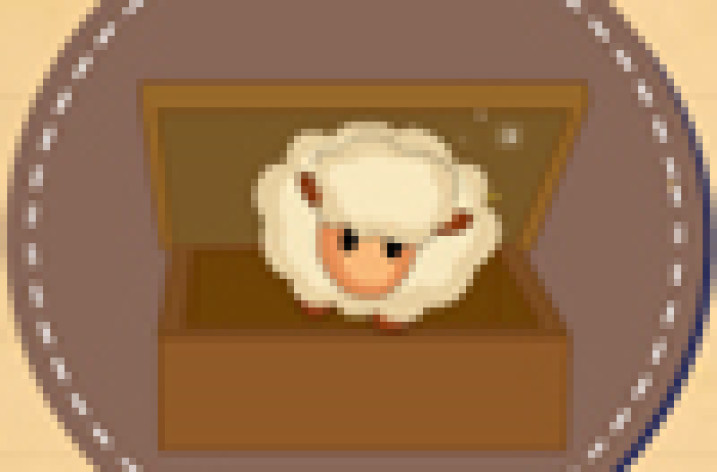 The Little Prince-The box becomes the lamb