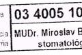 MUDr. Miroslav Bucha