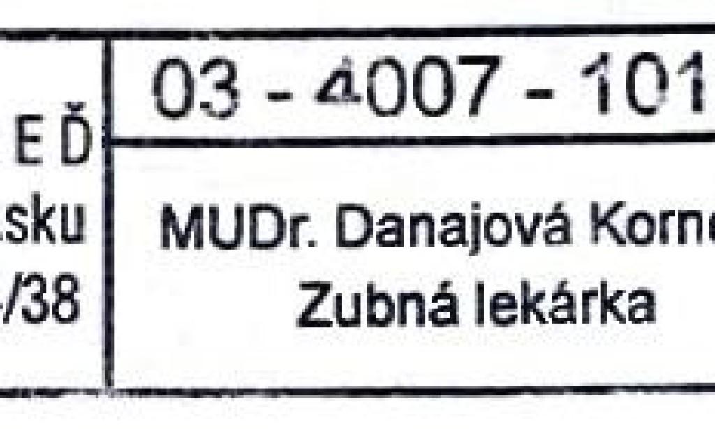 MUDr. Dajanová Kornélia
