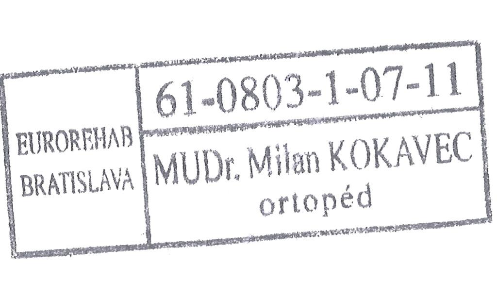 MUDr. Milan Kokavec