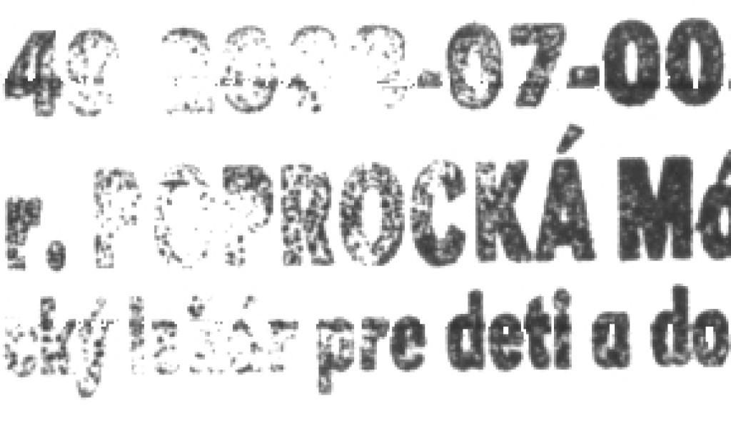 MUDr. Mária Poprocká