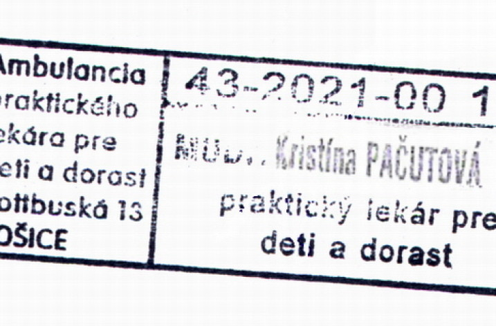 MUDr. Kristína Pačutová