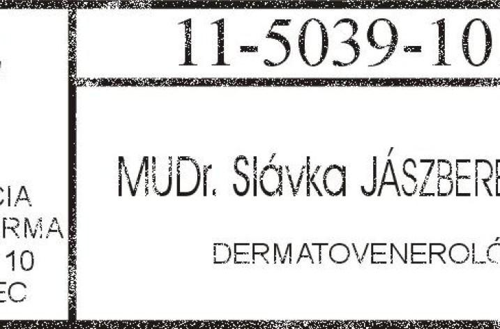 MUDr. Slávka Jásyberenyiová