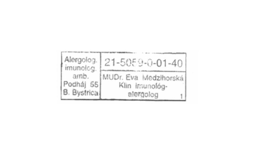 MUDr. Eva Medzihorská