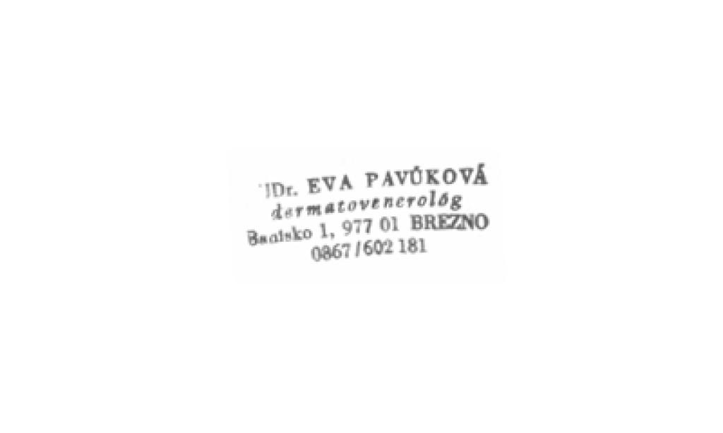 MUDr. Eva Pavúková