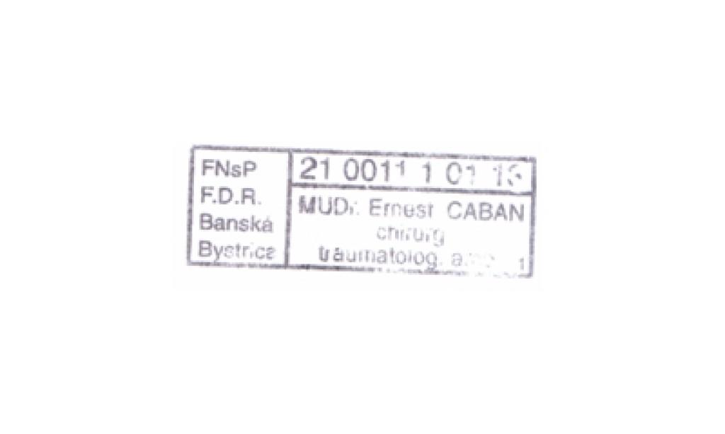 MUDr. Ernest Gaban