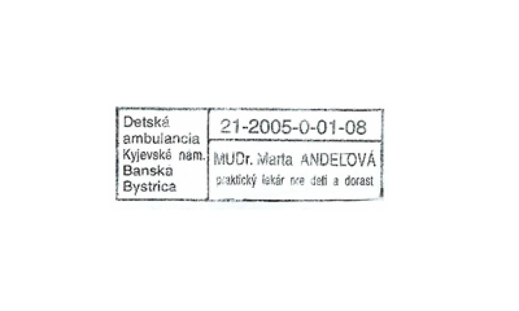 MUDr. Marta Andelová