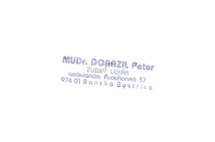 MUDr. Dorazil Peter