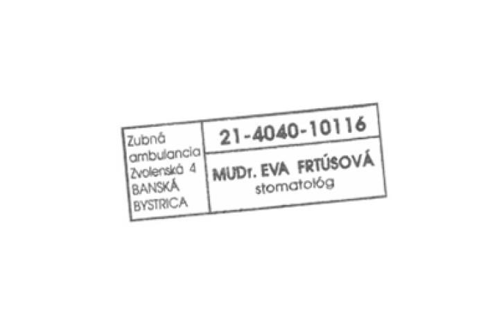 MUDr. Eva Frtúsová