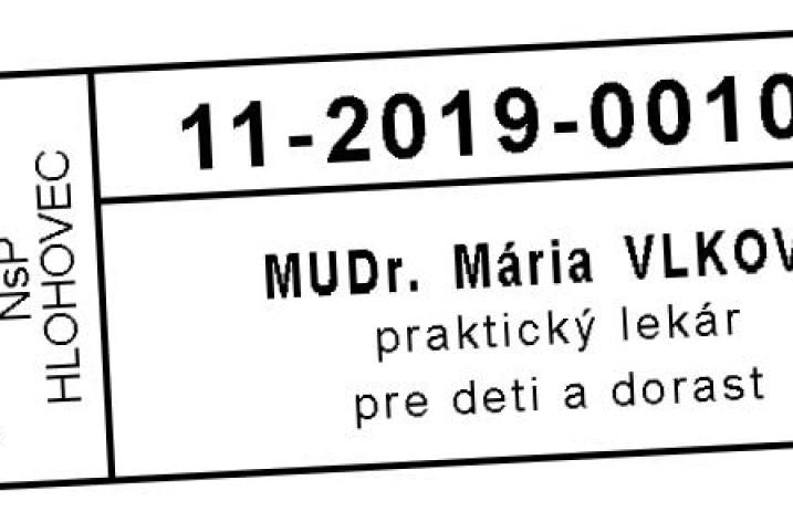 MUDr. Mária Vlková
