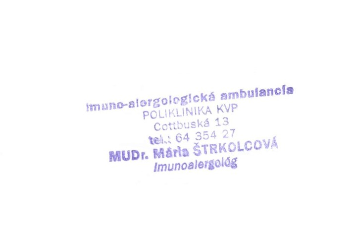 MUDr. Mária Strkolcová